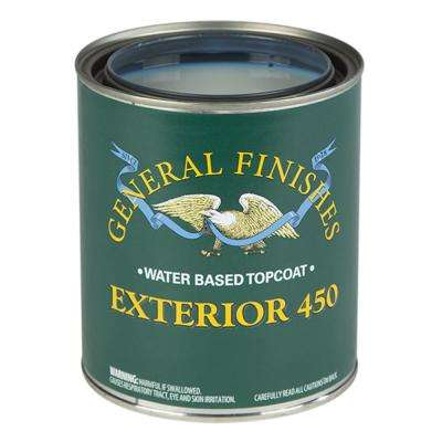 5-Ga. Semi-Gloss Exterior 450 Clear Varnish Topcoat