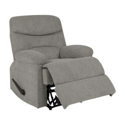 Warm Gray Chenille Wall Hugger Recliner