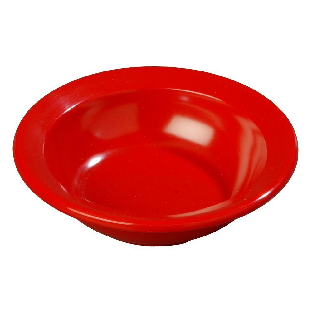 3.5 oz., 4.08 in. Diameter Fruit Bowl in Red (Case of 48)