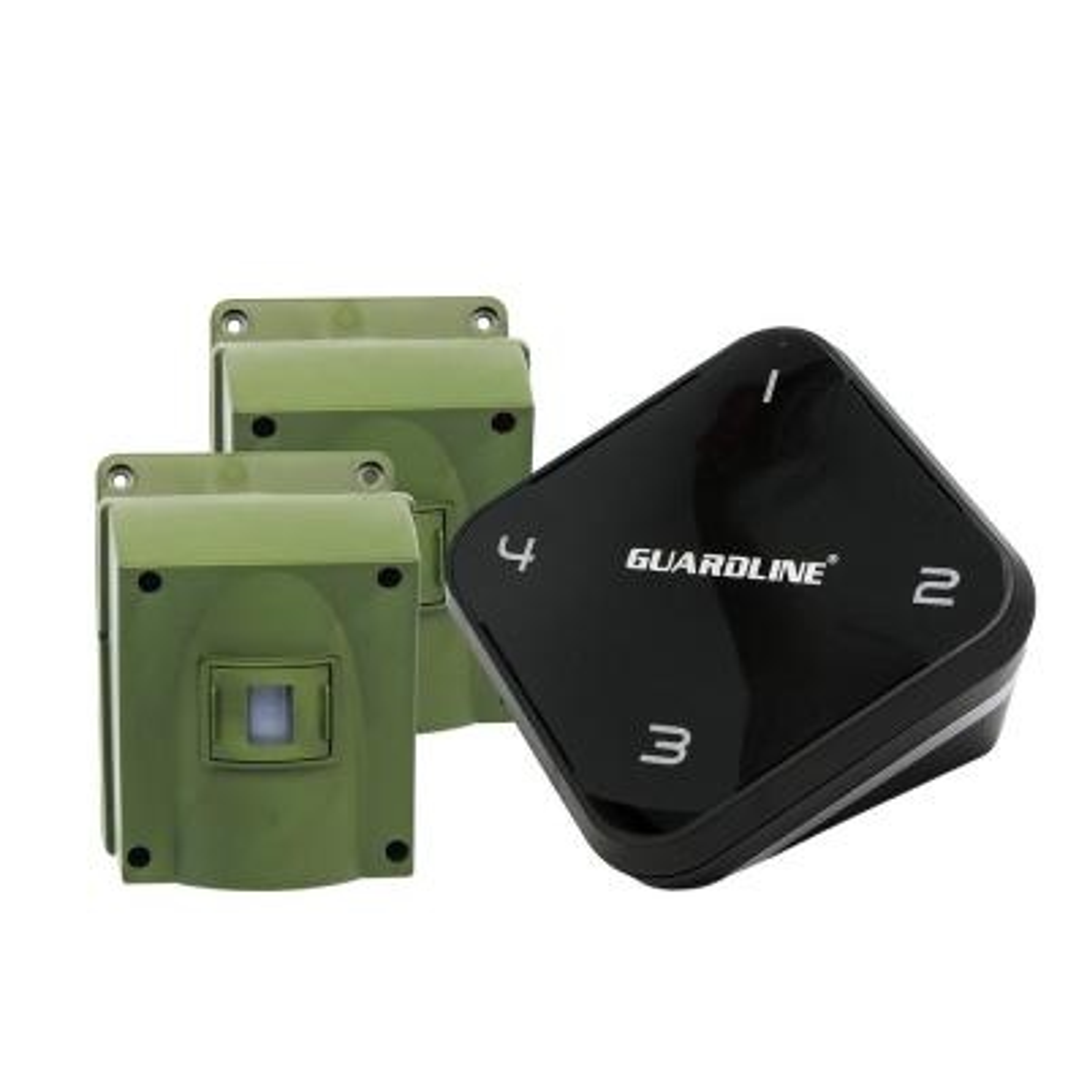 1/4 Mile Long Range Wireless Driveway Alarm with 2-Sensor Kit