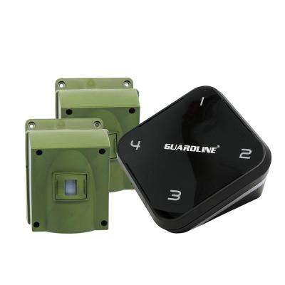 1/4 Mile Long Range Wireless Driveway Alarm with 2-Sensor Kit