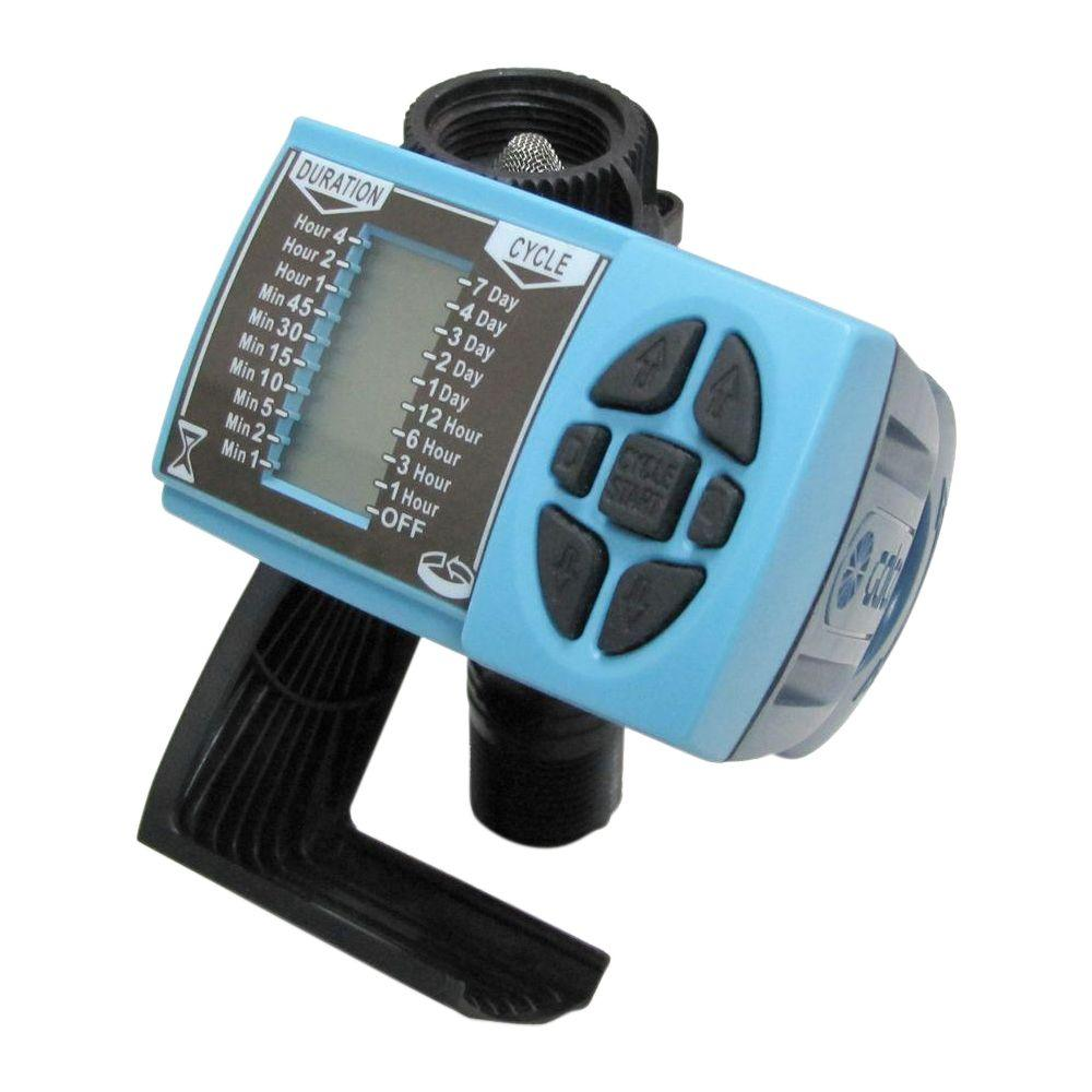 Galcon 11000ez Single Station Hose End Controller With Thread Three Hour Timer Fitting Digital Display