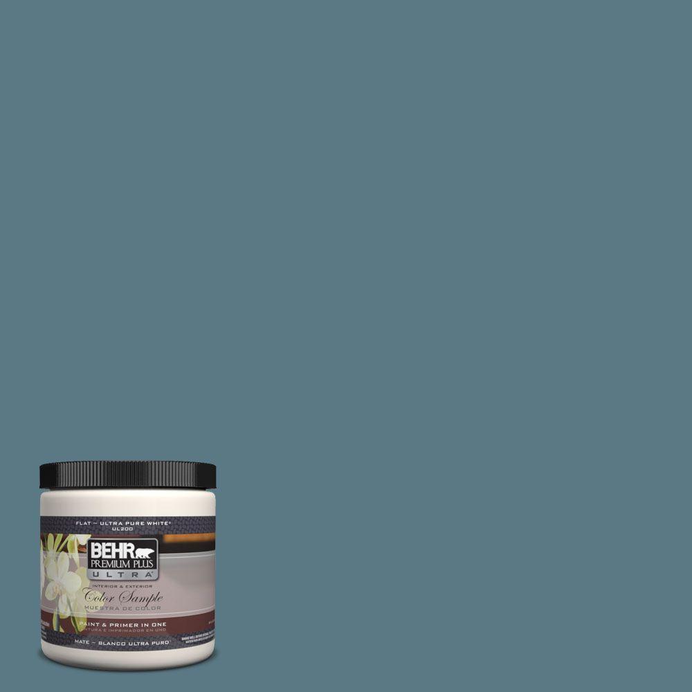 BEHR Premium Plus Ultra 8 oz. #UL230-20 Catalina Coast Interior/Exterior Paint Sample