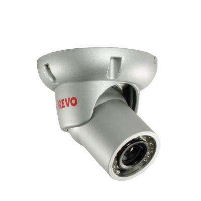 700TVL Indoor/Outdoor BNC Mini Turret Surveillance Camera with 100 ft. Night Vision
