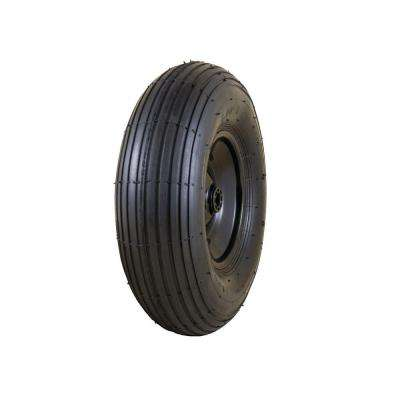 13 in. Pneumatic Wheelbarrow Wheel