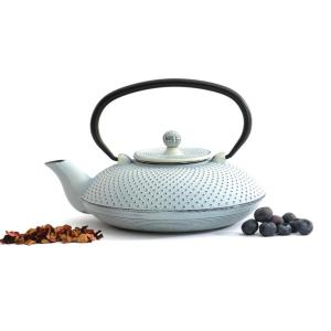 BergHOFF Studio 3.5-Cup White Cast Iron Teapot by BergHOFF