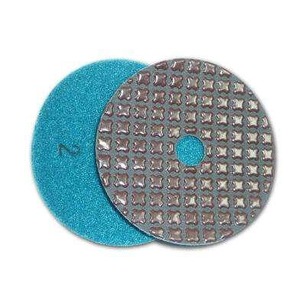 4 in. 5-Step Dry Diamond Polishing Pads Step 2