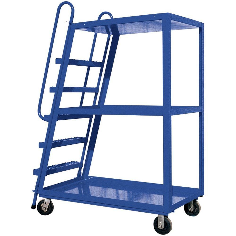 Vestil 22 In X 52 In 3 Shelf Hi Frame Stock Picker Truck Sps Hf