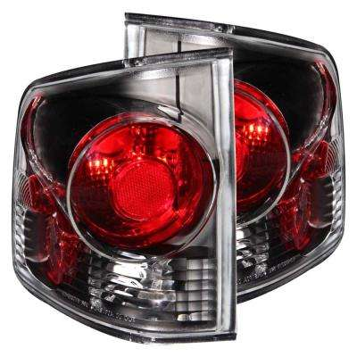1995-2005 Chevrolet S-10 Taillights Black 3D Style