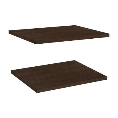 Impressions Chocolate Shelves for 16 in. W Impressions Tower (2-Pack)
