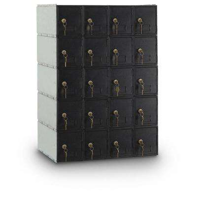 20-Compartment Standard Mailbox with Rear Loading Guardian System