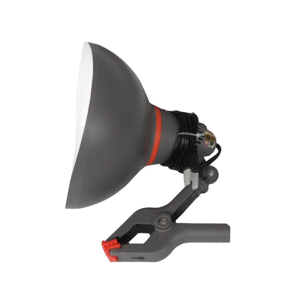 75-Watt PVC Clamp Lamp
