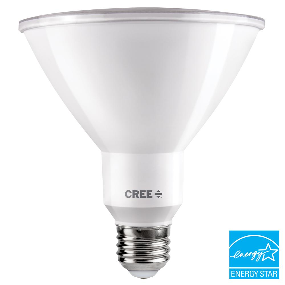 Cree 150-Watt Equivalent Daylight (5000K) PAR38 Dimmable Exceptional Light Quality LED 40-Degree Flood Light Bulb