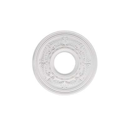 Berona 12 in. White Ceiling Medallion