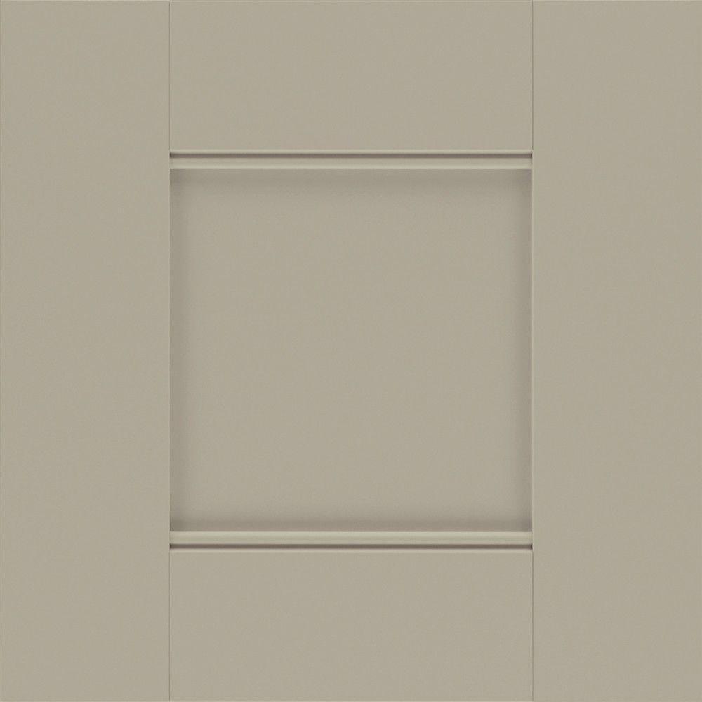 Martha Stewart Living 14.5x14.5 in. Cabinet Door Sample in Dunemere Ocean Floor