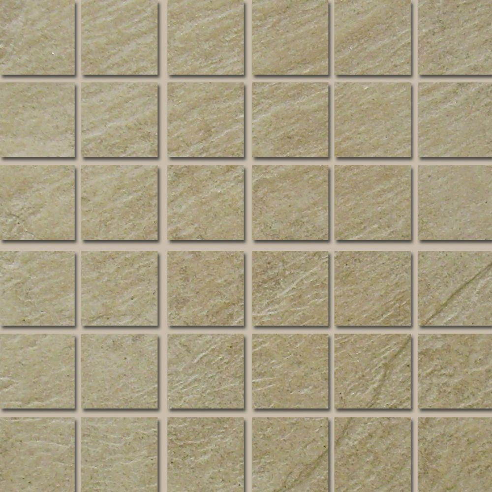 MARAZZI Terra Brazilian Slate 12 in. x 12 in. Porcelain Mosaic Floor and Wall Tile