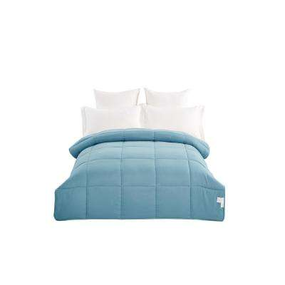All Season Water Green King Microfiber Comforter