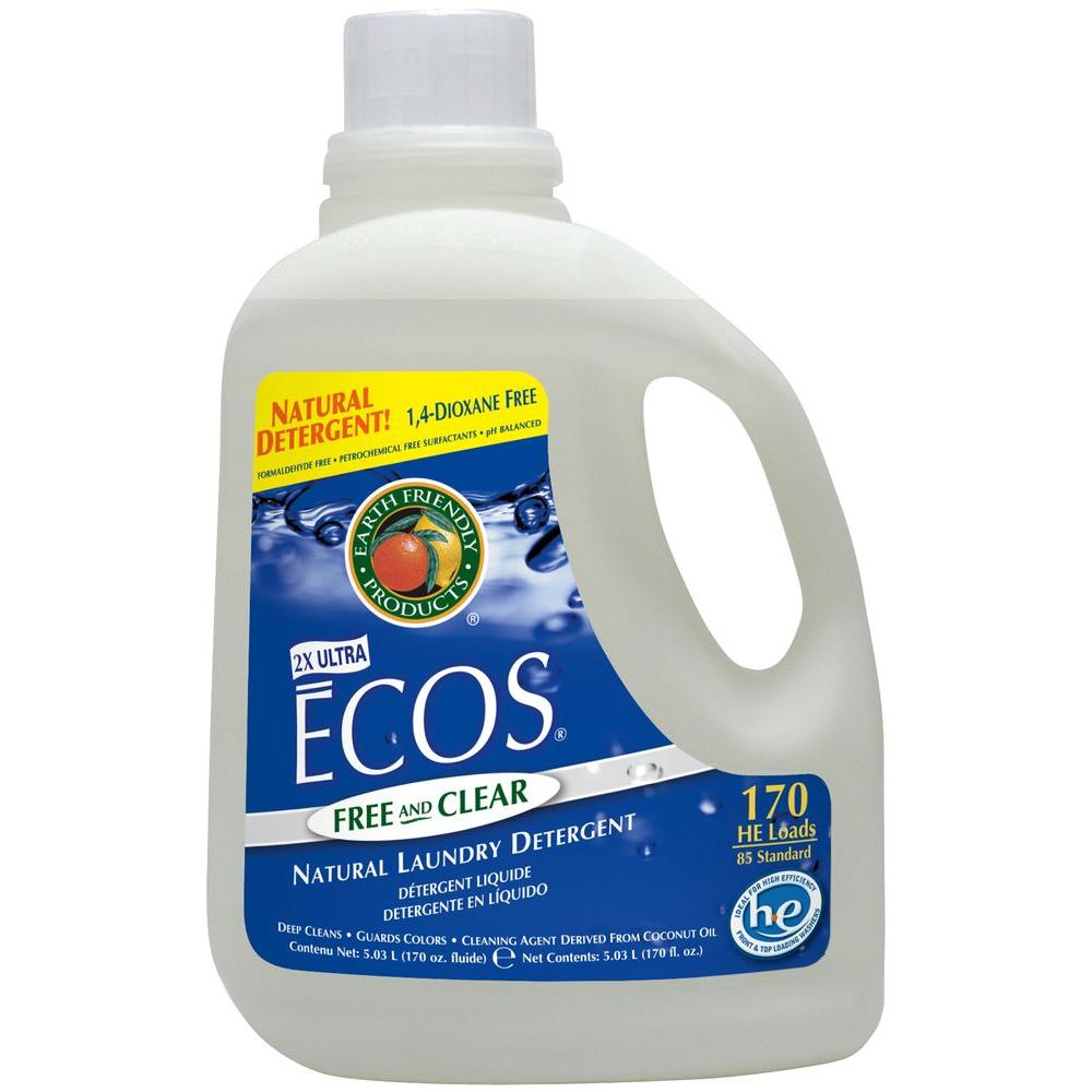 Earth Friendly Products 170 oz. Free and Clear Liquid Laundry Detergent