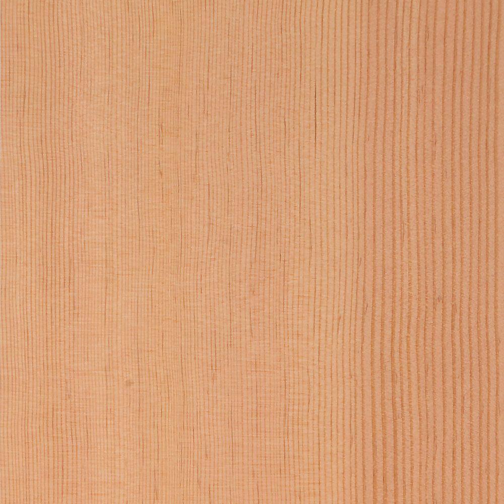 Clopay 4 in x 3 in Wood Garage Door Sample in Unfinished Fir FIR
