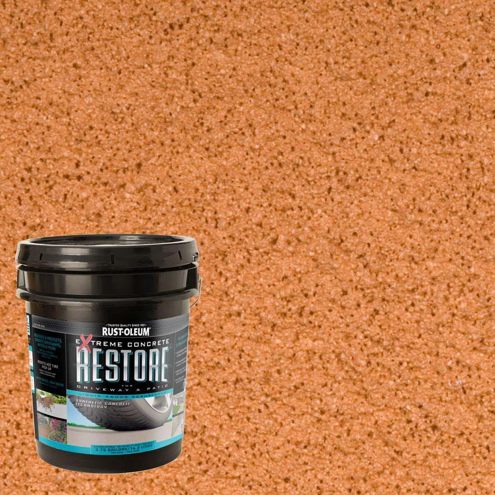 Rust-Oleum Restore 4 gal. 10X Advanced Navajo Red Deck and ...