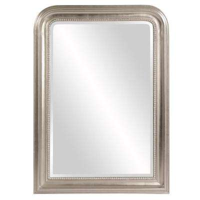Sterling Arched Silver Mirror