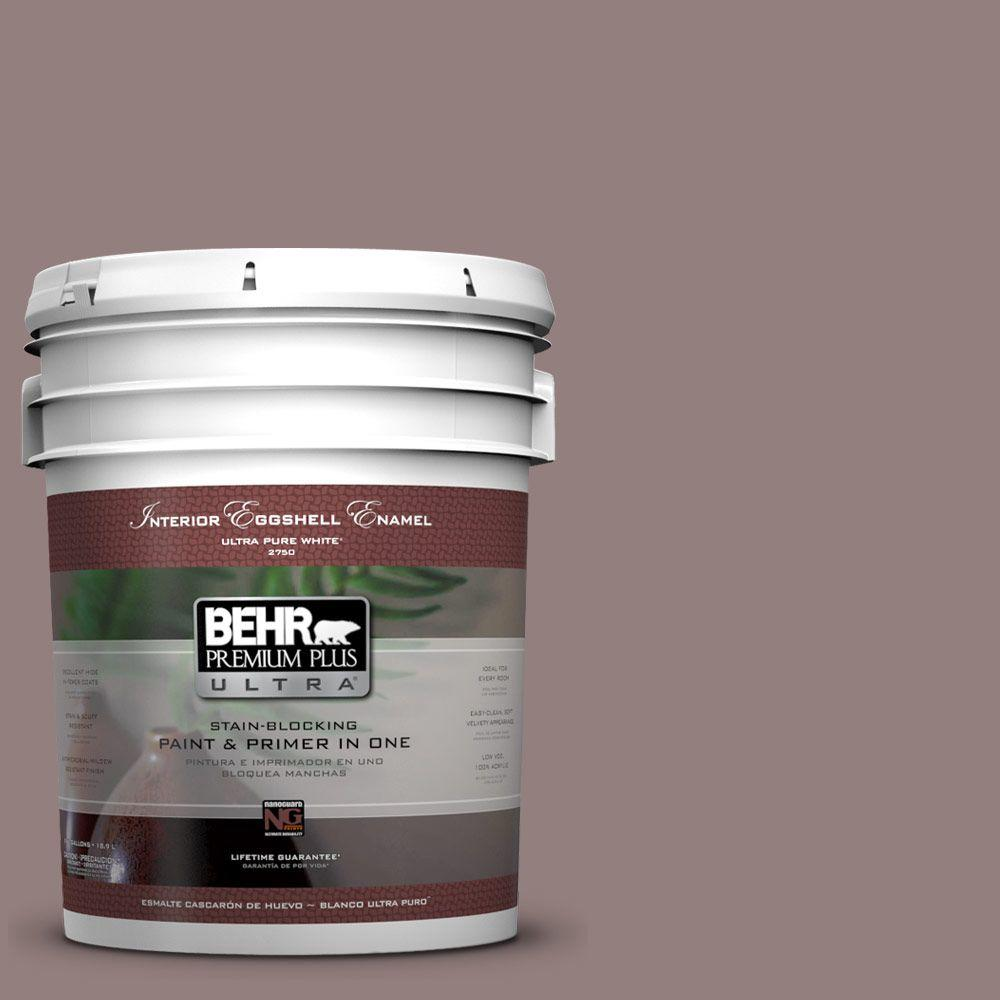 BEHR Premium Plus Ultra 5-gal. #730B-5 Warm Embrace Eggshell Enamel Interior Paint