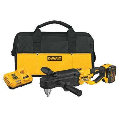FLEXVOLT 60-Volt MAX Lithium-Ion Cordless Brushless 1/2 in. Stud and Joist Drill Kit W/9.0 Ah Pack, Tool Bag and Charger