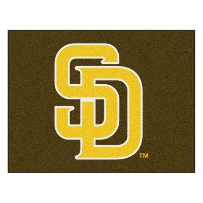 MLB - San Diego Padres 34 in. x 43 in. All Star Mat Area Rug