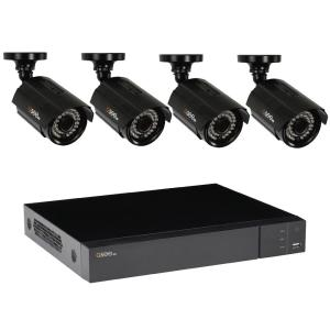 Q SEE 8 Channel 1080p 1TB Video Surveillance System With 4 HD Bullet Cameras