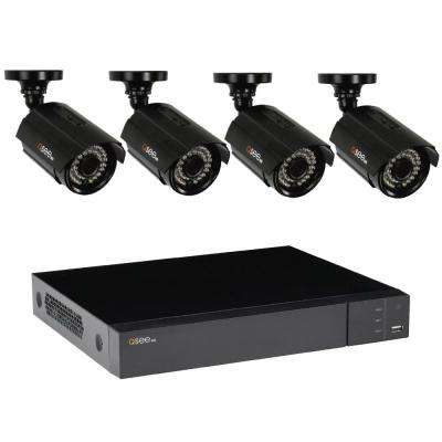 8-Channel 1080p 1TB Video Surveillance System with 4 HD Bullet Cameras and 100 ft. Night Vision