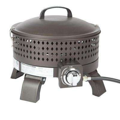 15 in. Bronze Sporty Steel Campfire Fire Pit