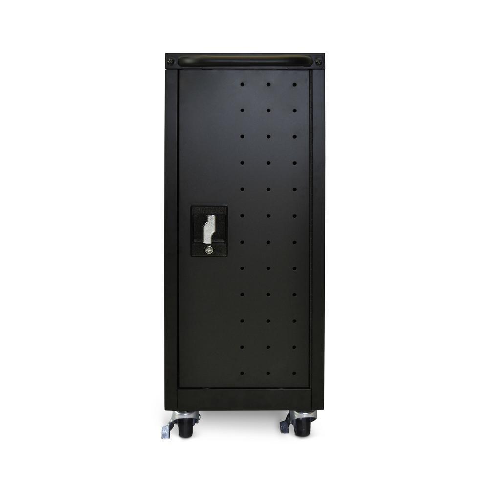 All Steel Charging Locker Cart for 16 Chromebooks/Tablets