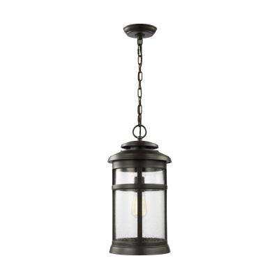 Newport Antique Bronze 1-Light Hanging Lantern
