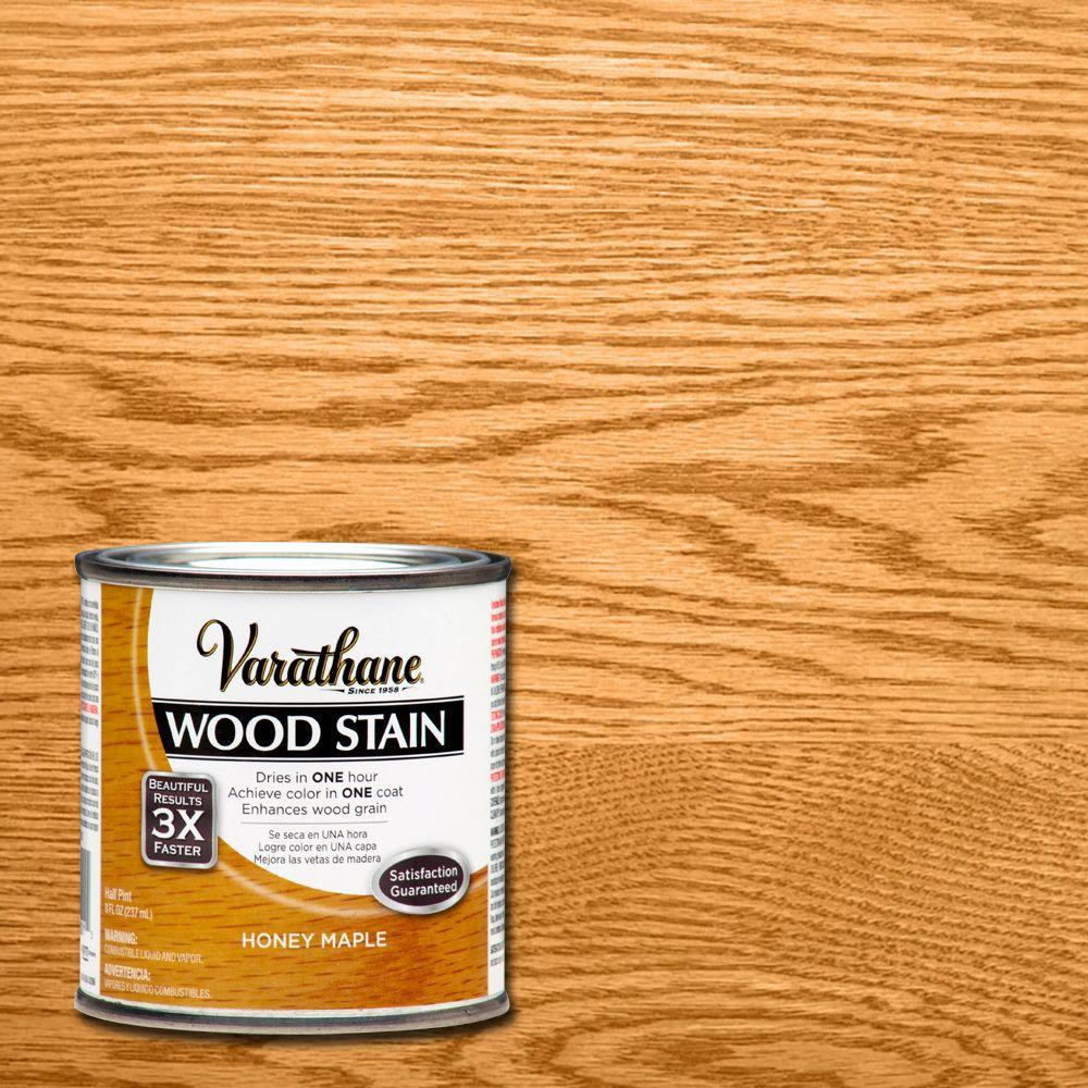 Varathane 8 oz honey maple premium fast dry interior wood - Interior wood stain colors home depot ...