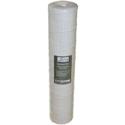 String Wound Sediment Water Filter Replacement Cartridge
