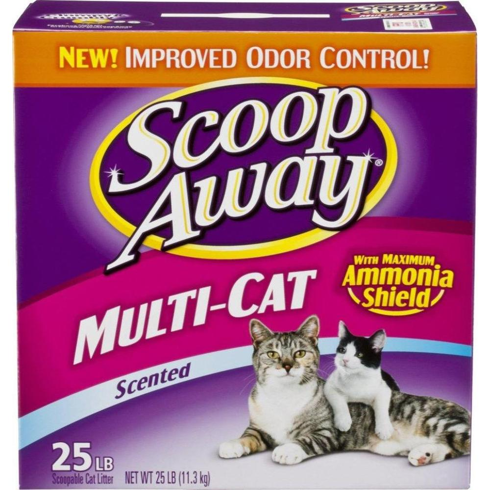 25 lb. Scoopable Multi-Cat Scented Litter