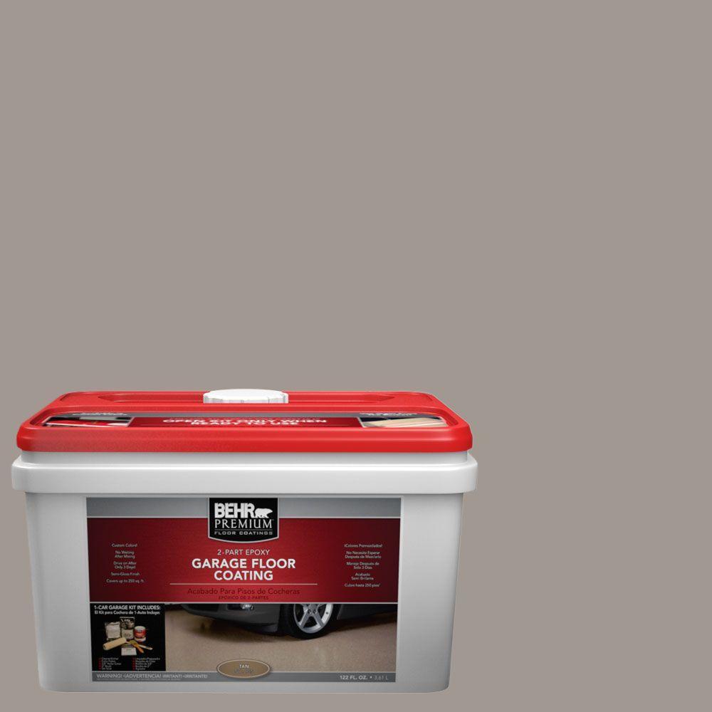 BEHR Premium 1-gal. #PFC-73 Pebbled Path 2-Part Epoxy Garage Floor Coating Kit