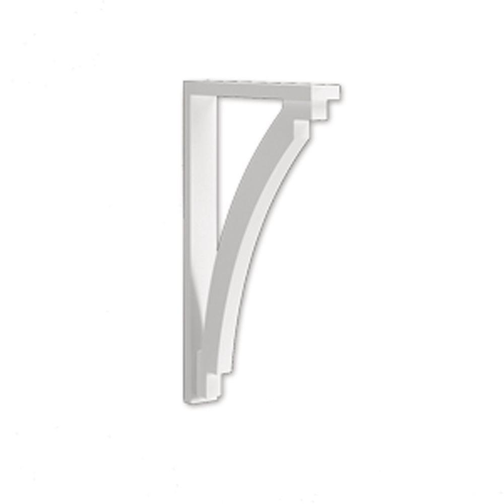 Fypon 24 in x 36 in x 3 1 2 in polyurethane cove arch for Painting fypon