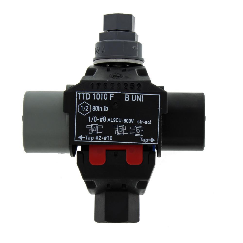 Gardner Bender 22-10 AWG 10-Circuit Terminal Block (1-Pack)-GTB-410