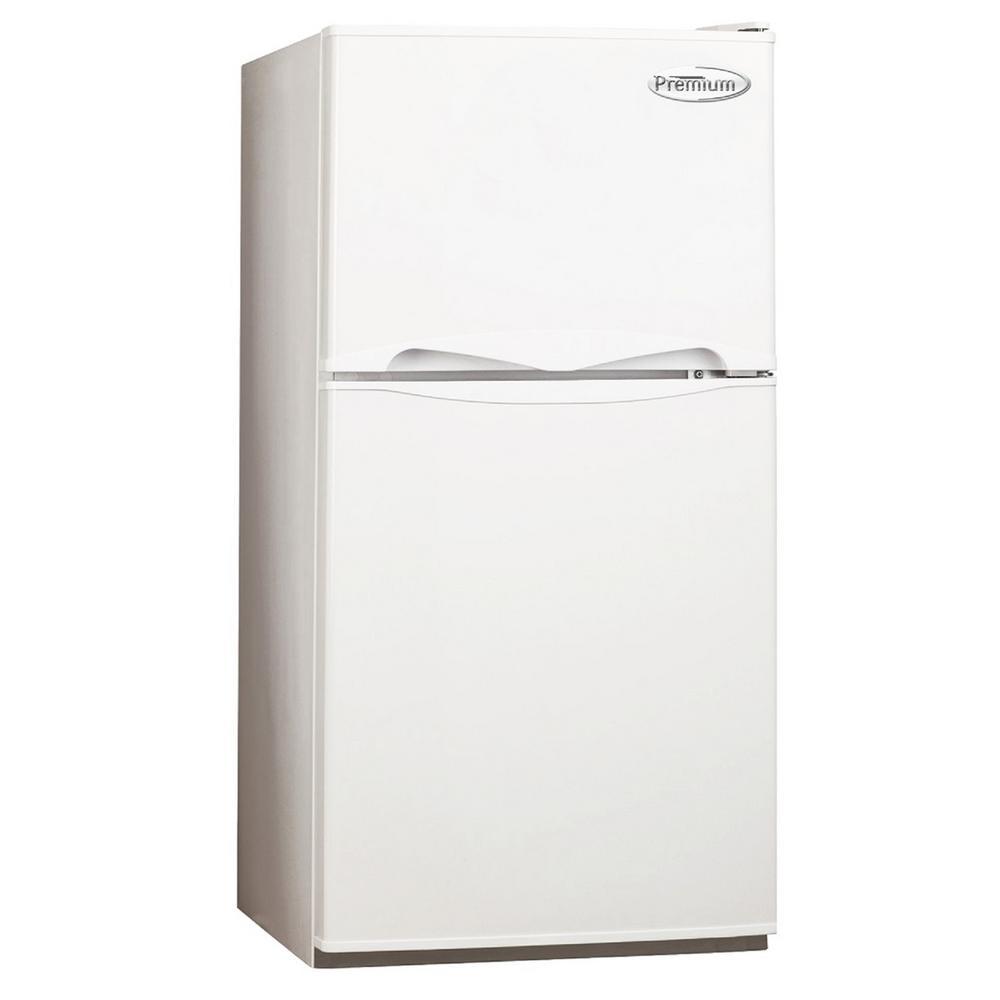 Charmant PREMIUM 4.5 Cu. Ft. Frost Free Mini Refrigerator In White