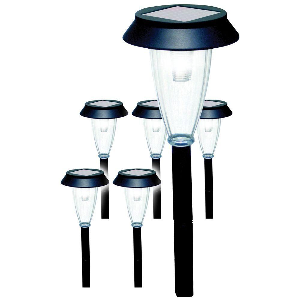 null Solar Garden Lights (6-Pack)-DISCONTINUED