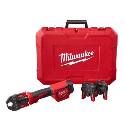 M18 18-Volt Lithium-Ion Cordless Short Throw Press Tool Kit W/ (3) PEX Crimp Jaws