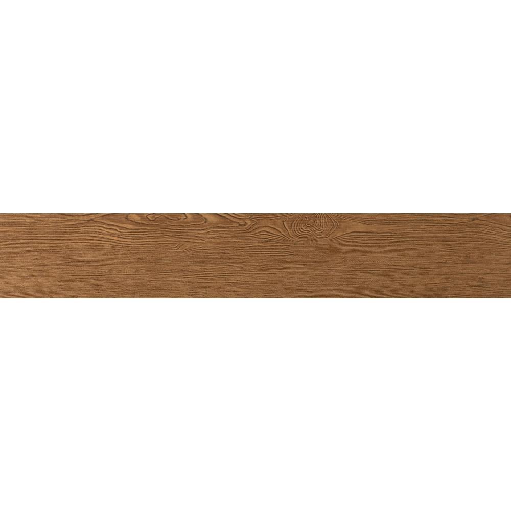 Alpine Mocha Matte 5.91 in. x 35.43 in. Porcelain Floor and Wall Tile (8.7198 sq. ft. / case)
