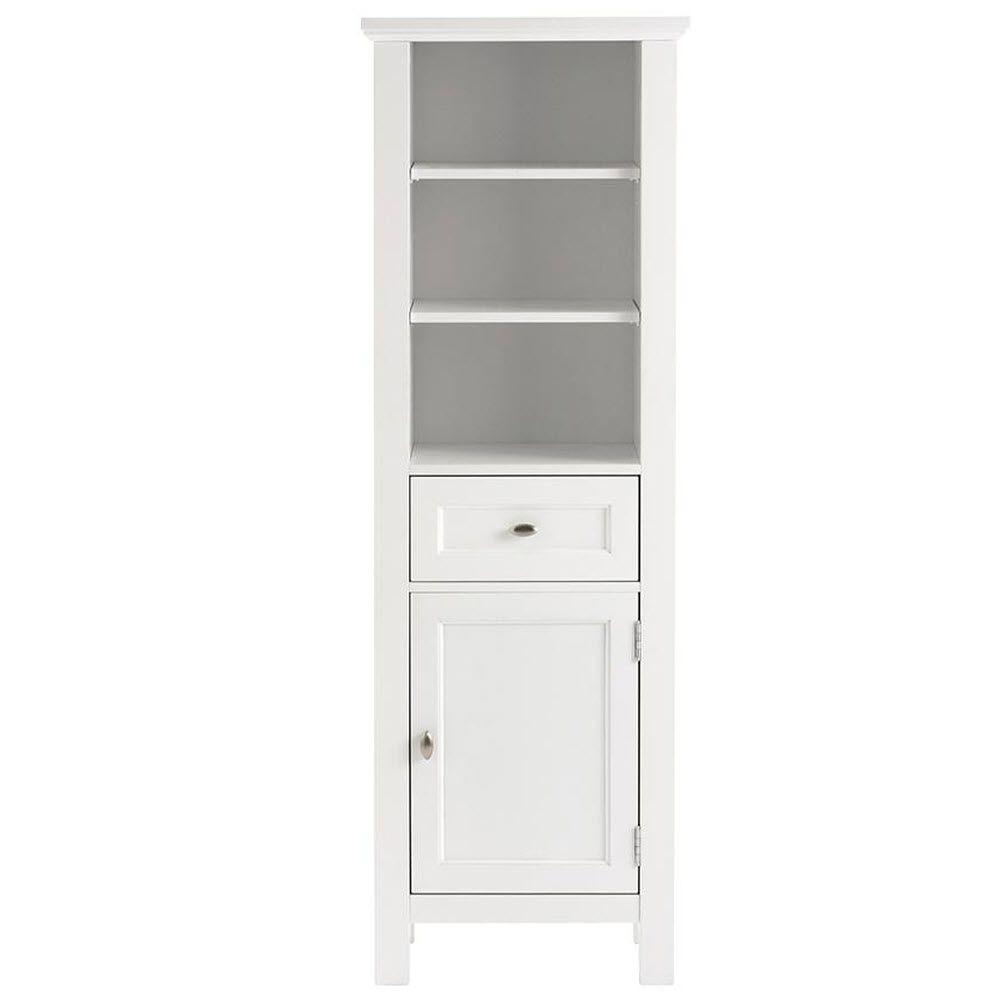 home decorators collection austell 20 in w x 60 in h x 14 in - Bathroom Linen Cabinets