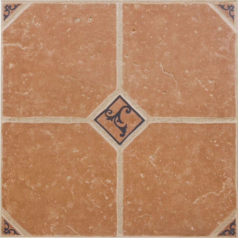 Megatrade Marbella 16 In X 16 In Ceramic Floor And Wall