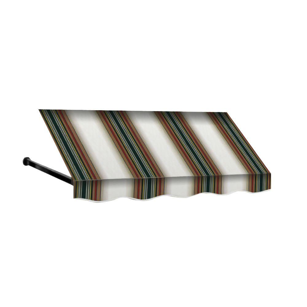 4 ft. Dallas Retro Window/Entry Awning (24 in. H x 42
