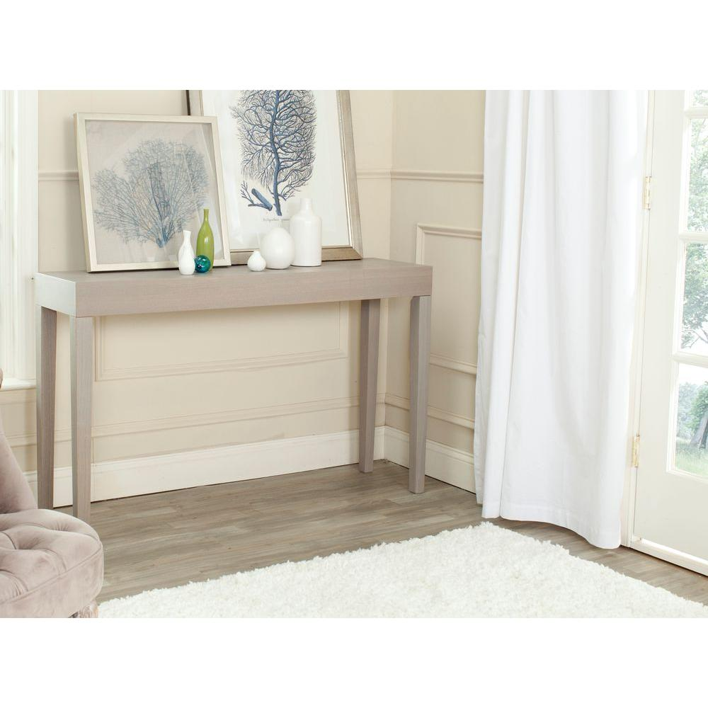 Kayson Gray Console Table