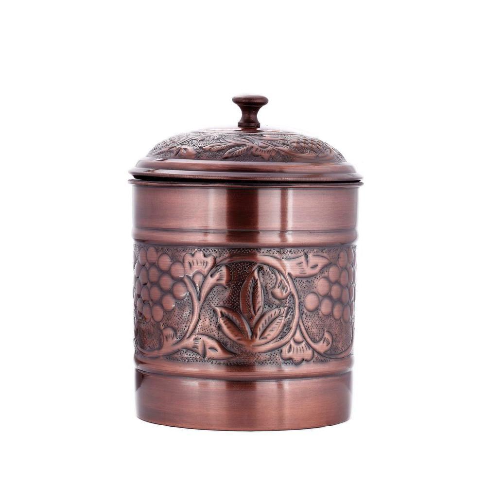 Antique Embossed Heritage Cookie Jar