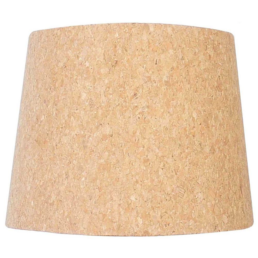 Hampton Bay Mix Amp Match Cork Round Accent Shade 16865