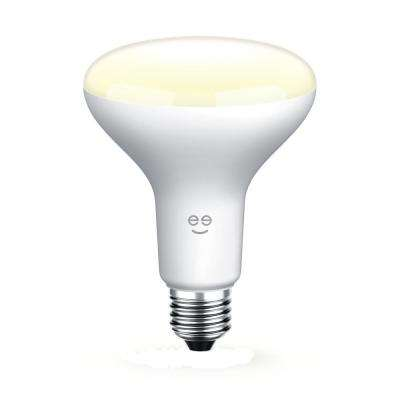 LUX DROP 65W Equivalent Warm White BR30 Smart Dimmable and Adjustable LED Light Bulb
